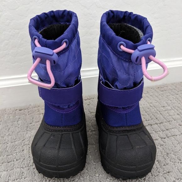 Columbia Shoes Powderbug Snow Boots Baby Size 6 Poshmark